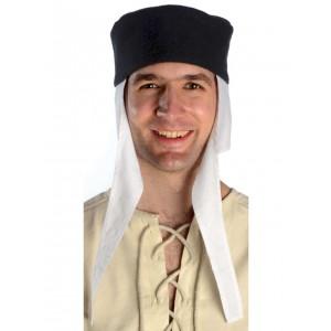 mittelalter kappe und haube